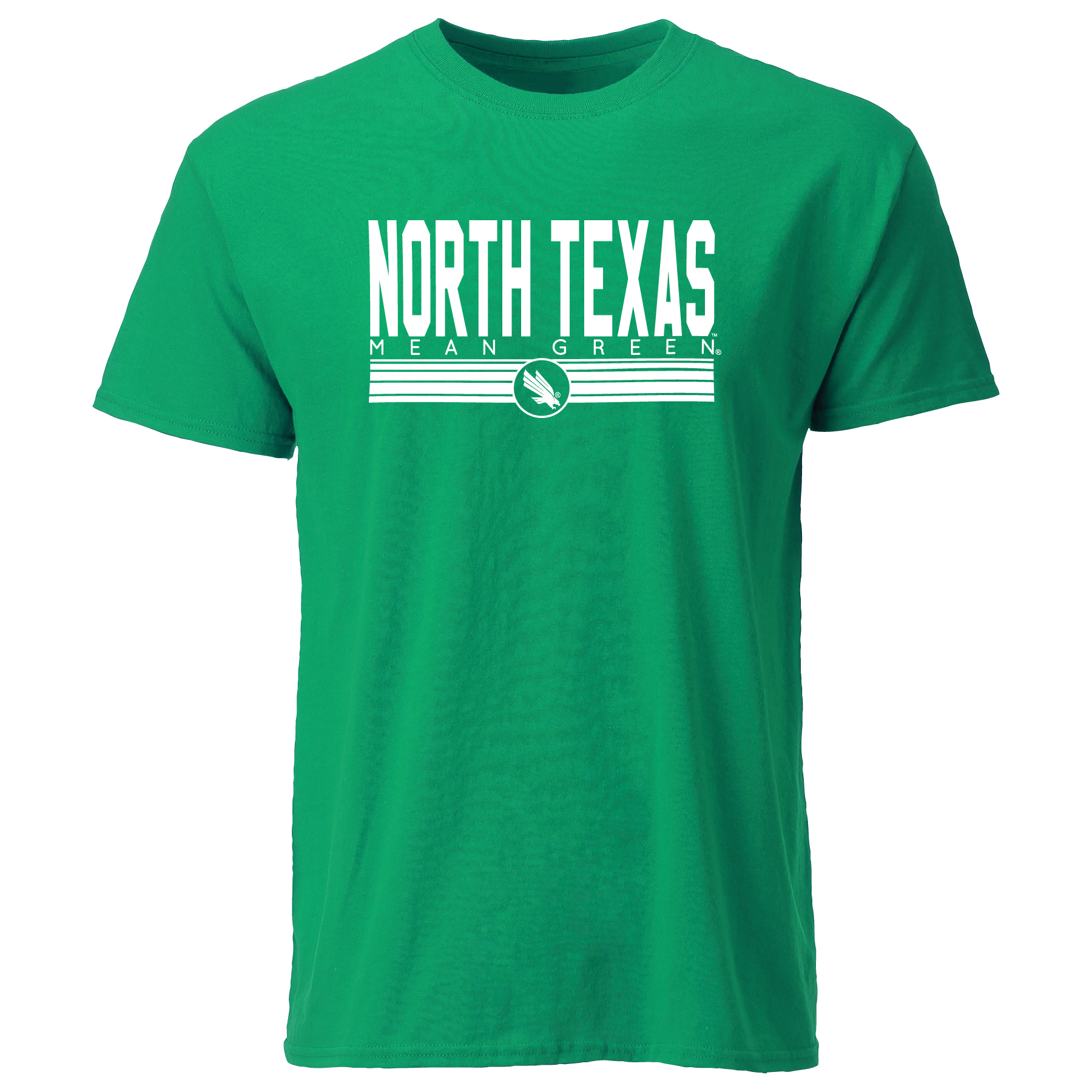 STRIPED NORTH TEXAS TEE