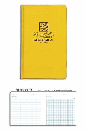 Rite in the Rain All-Weather Geological Field Book No 540F
