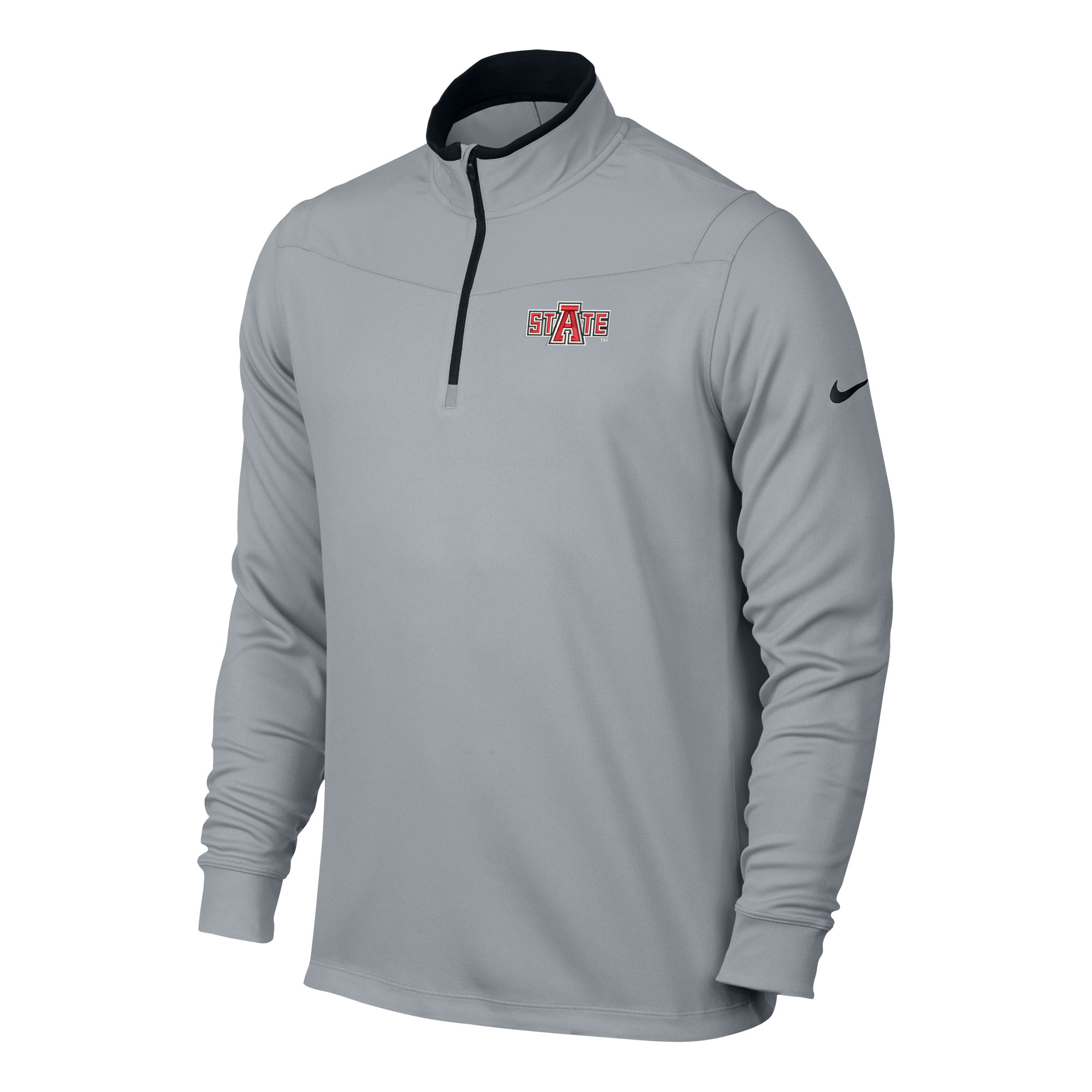 Red Wolves DriFit 1/2 Zip LS Top