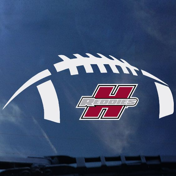 HREDDIES FOOTBALL DECAL