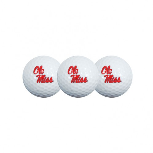 Ole Miss Golf Balls 3-Pack