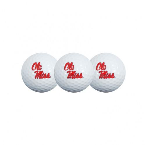 Ole Miss Golf Balls 3-Pack