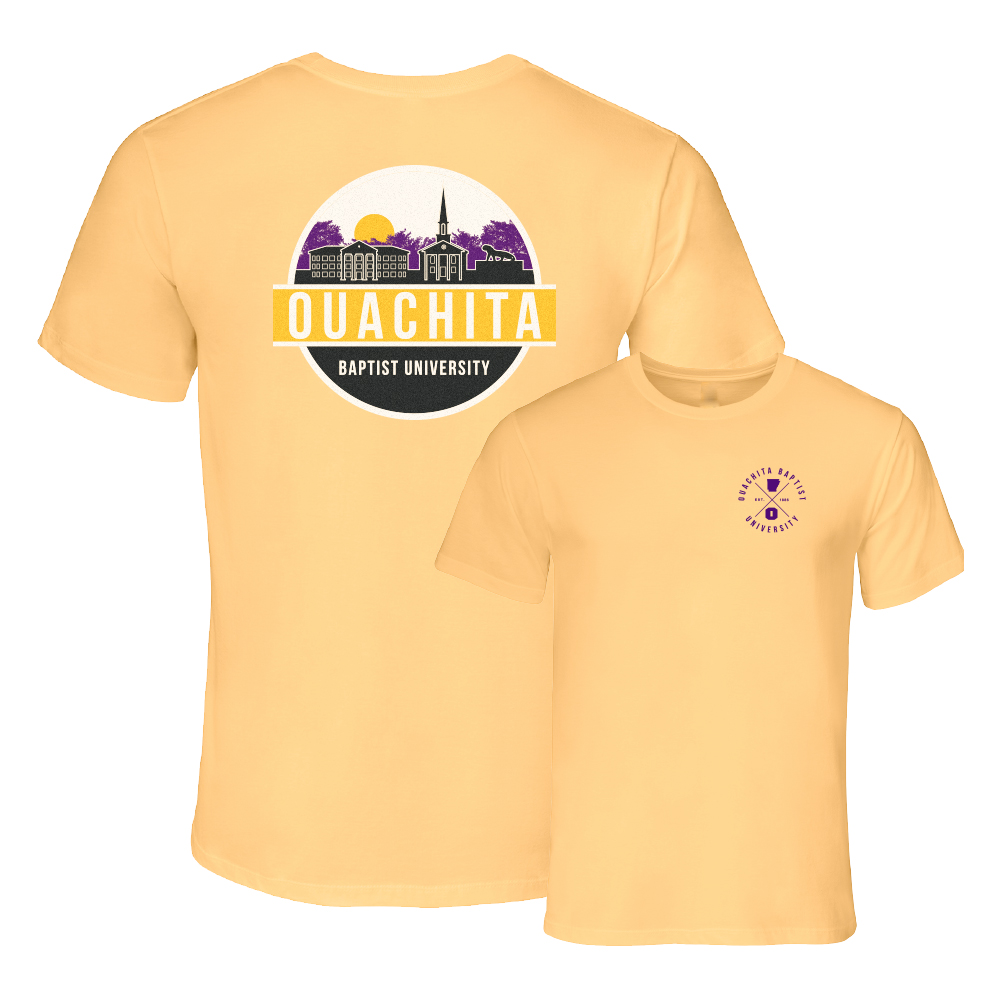 OUACHITA BAPTIST UNIVERSITY ULTIMATE SKYLINE TEE