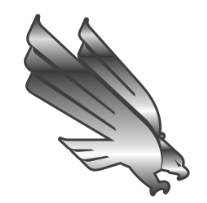EAGLE CHROME EMBLEM