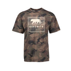 OUACHITA BAPTIST UNIVERSITY CAMO SS TEE