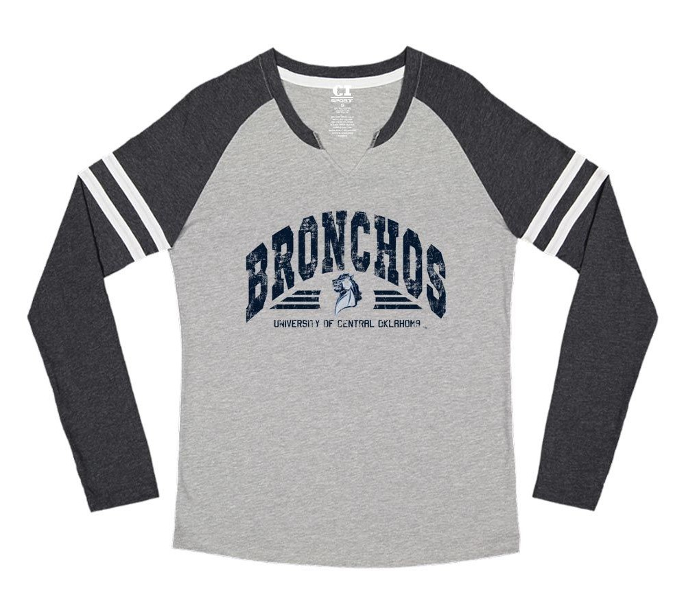 UCO Bronchos Minion Ladies Gameday LS