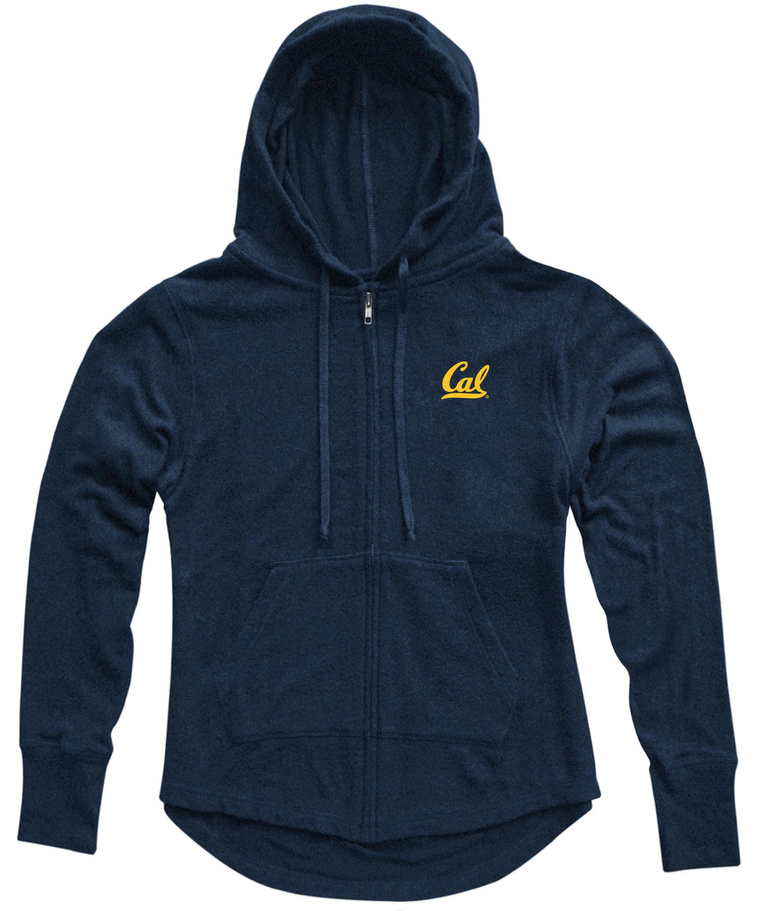 University of California Berkeley Katie Brushed Hacci Cozy Full Zip Hood