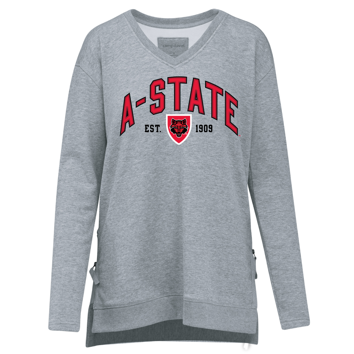 Arkansas State Eden V-Neck Sweater
