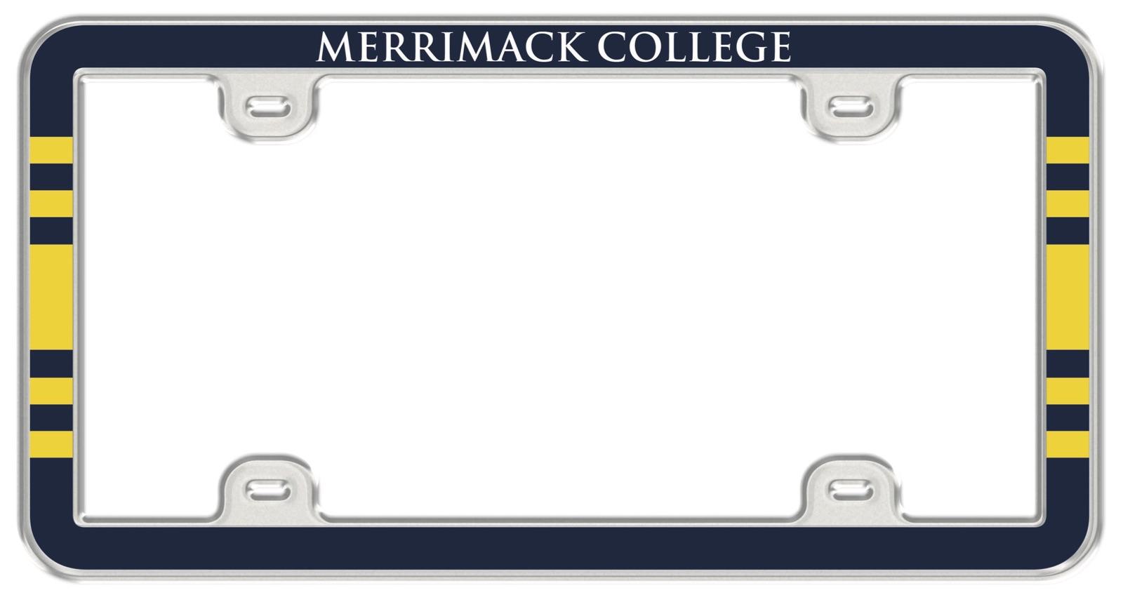 Metal Thin Rim License Plate Frame