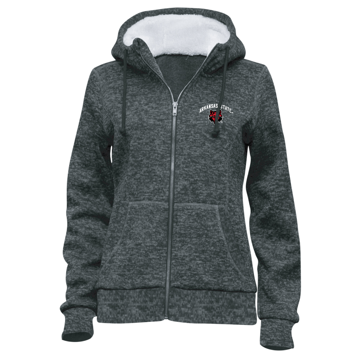 Red Wolves Chilly FZ Hoodie