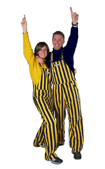 Cal Bears Game Bib Overalls