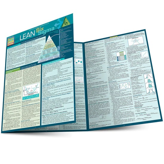 QuickStudy Lean Six Sigma Laminated Reference Guide