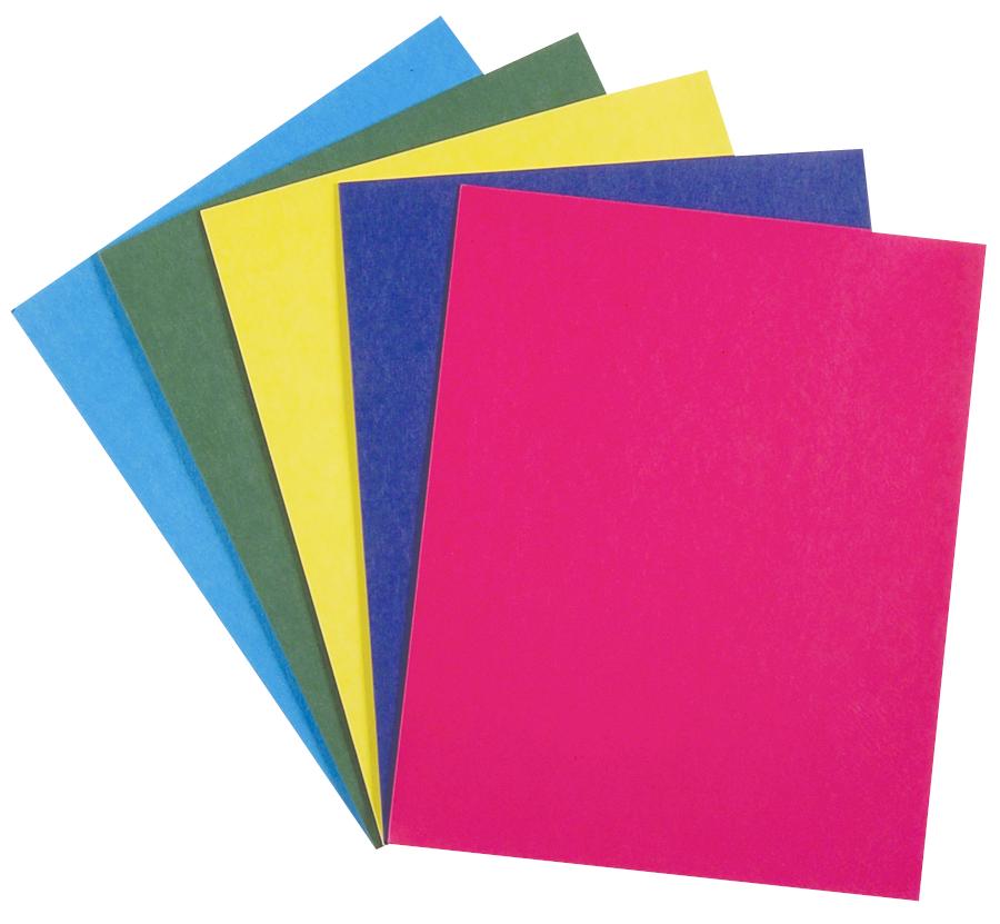 Roaring Spring Paper Pocket Folder - Asst 9.5x11.75i