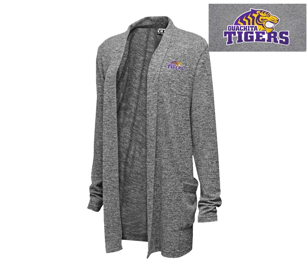 OUACHITA TIGERS EASY FIT CARDIGAN