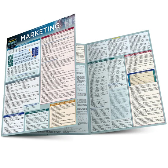 QuickStudy | Marketing Laminated Reference Guide