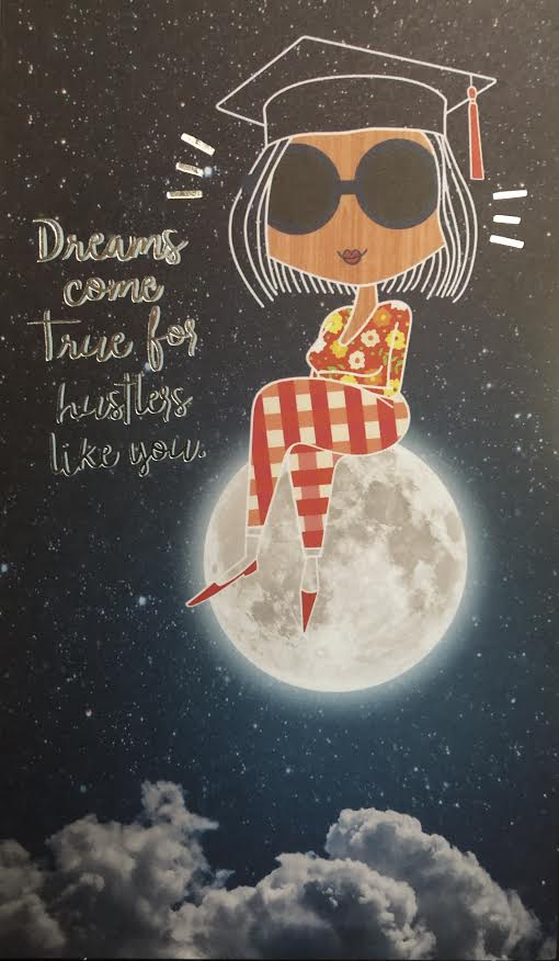 Dreams Come True Graduation Greeting Card/Gift Card Holder