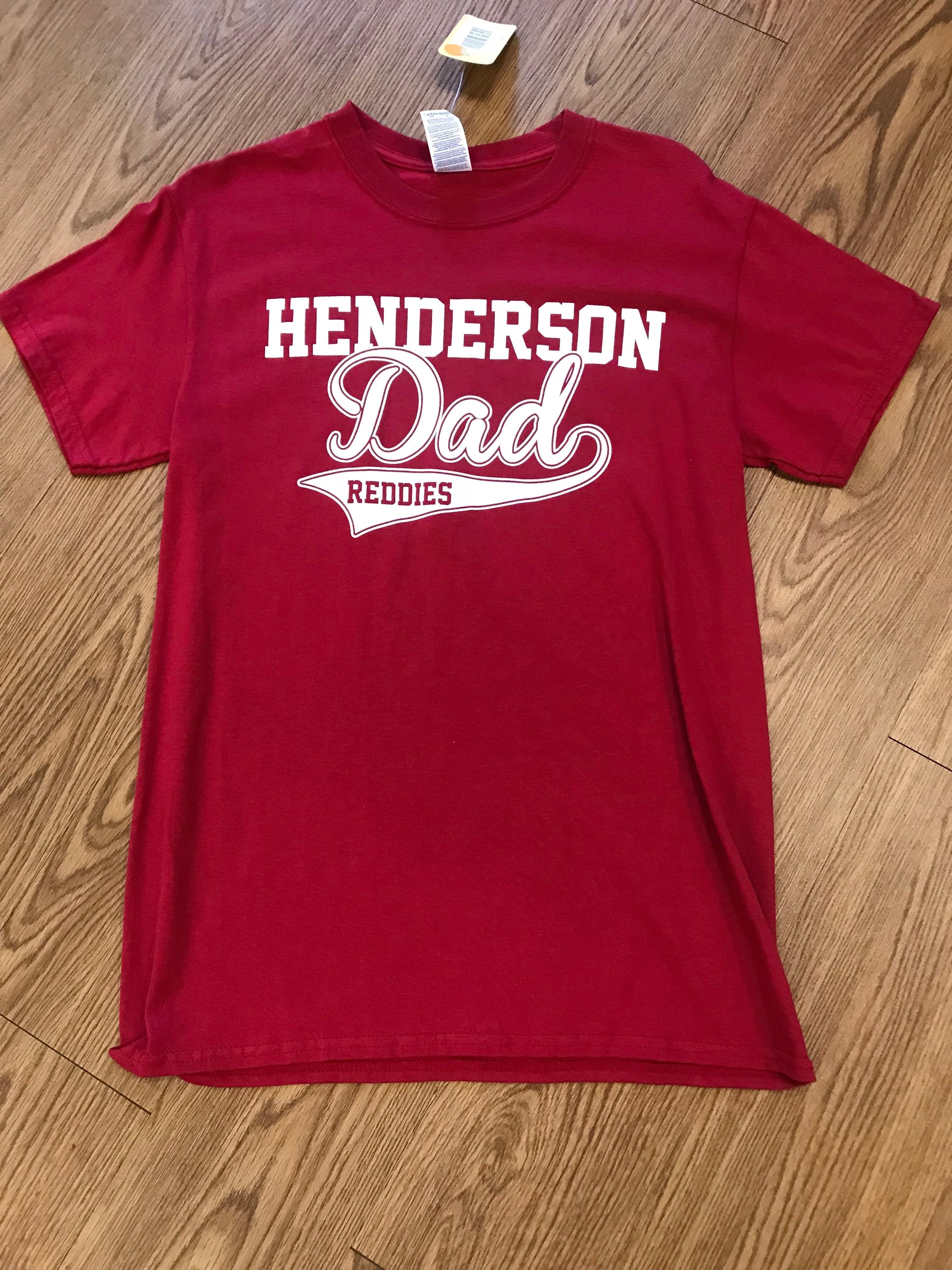 RED HENDERSON DAD SHIRT