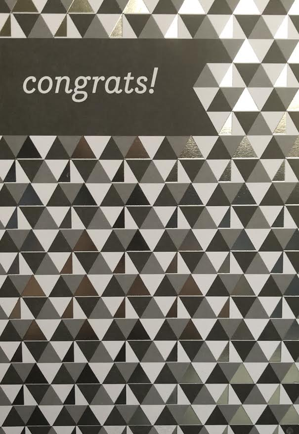 Congrats! Graduation Greeting Card