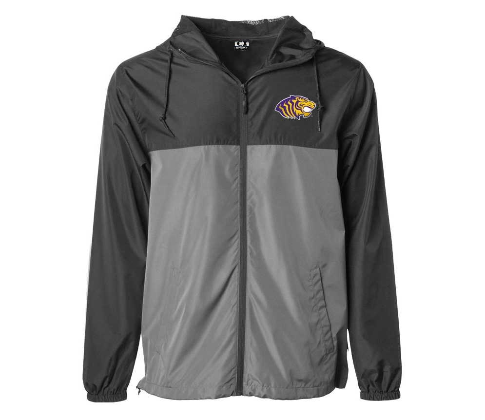 OUACHITA LOGO FULL ZIP WINDBREAKER