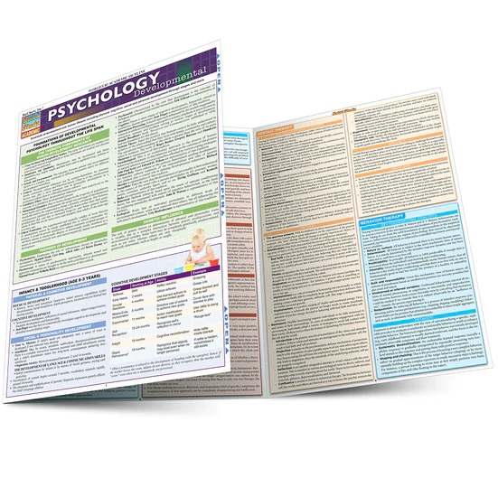 QuickStudy Psychology: Developmental (Life Span) Laminated Study Guide