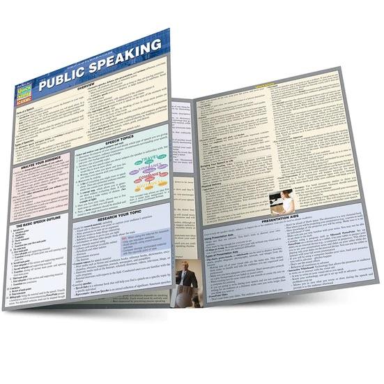 QuickStudy | Public Speaking Laminated Guide