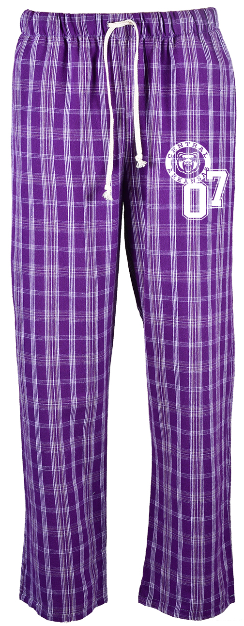 Campus Plaid Flannel Pants