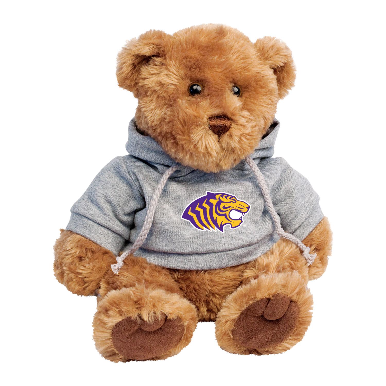CHELSEA TEDDY BEAR W/ OUACHITA TIGER LOGO HOODY