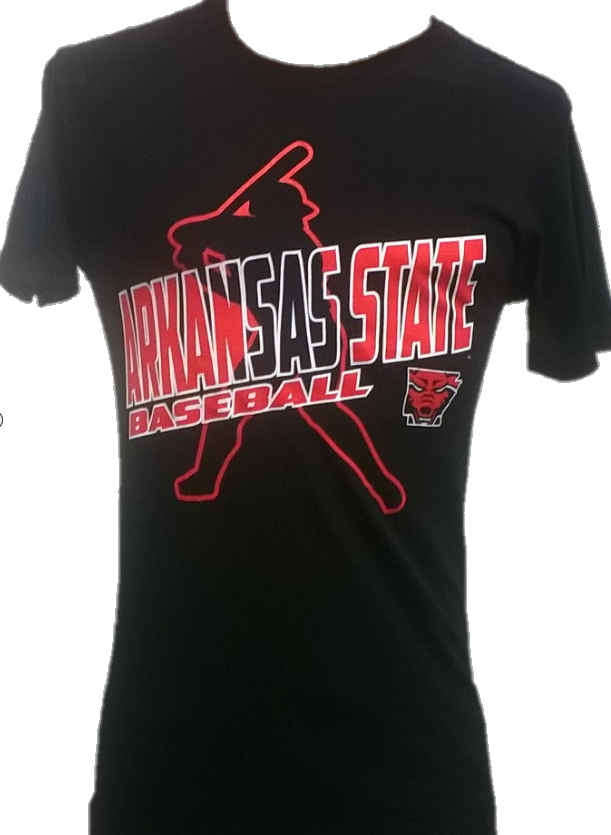 Arkansas State Baseball T Shirt