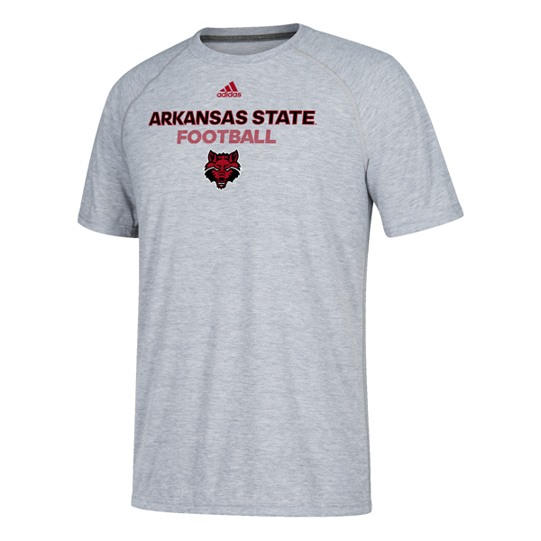 Arkansas State Football S/S Climalite T Shirt