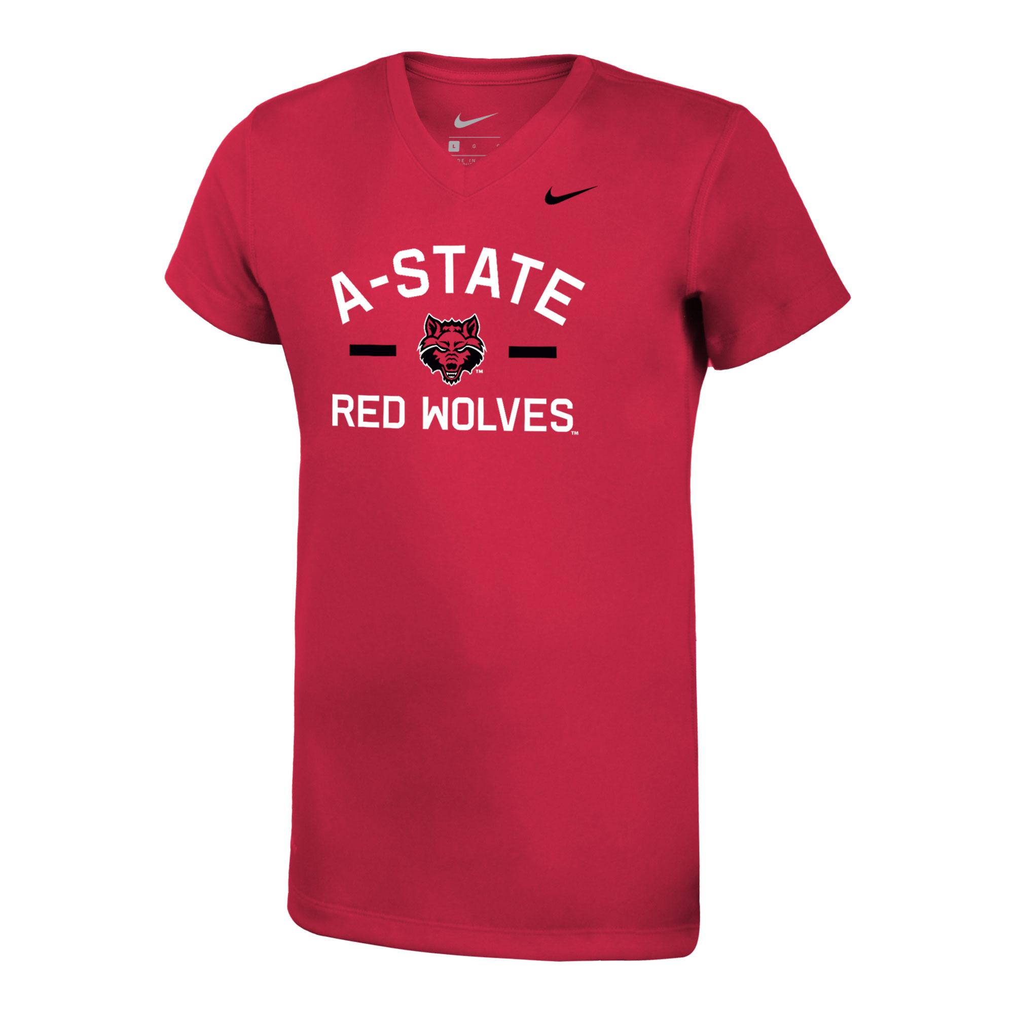Red Wolves Girls Youth Legend SS Tee