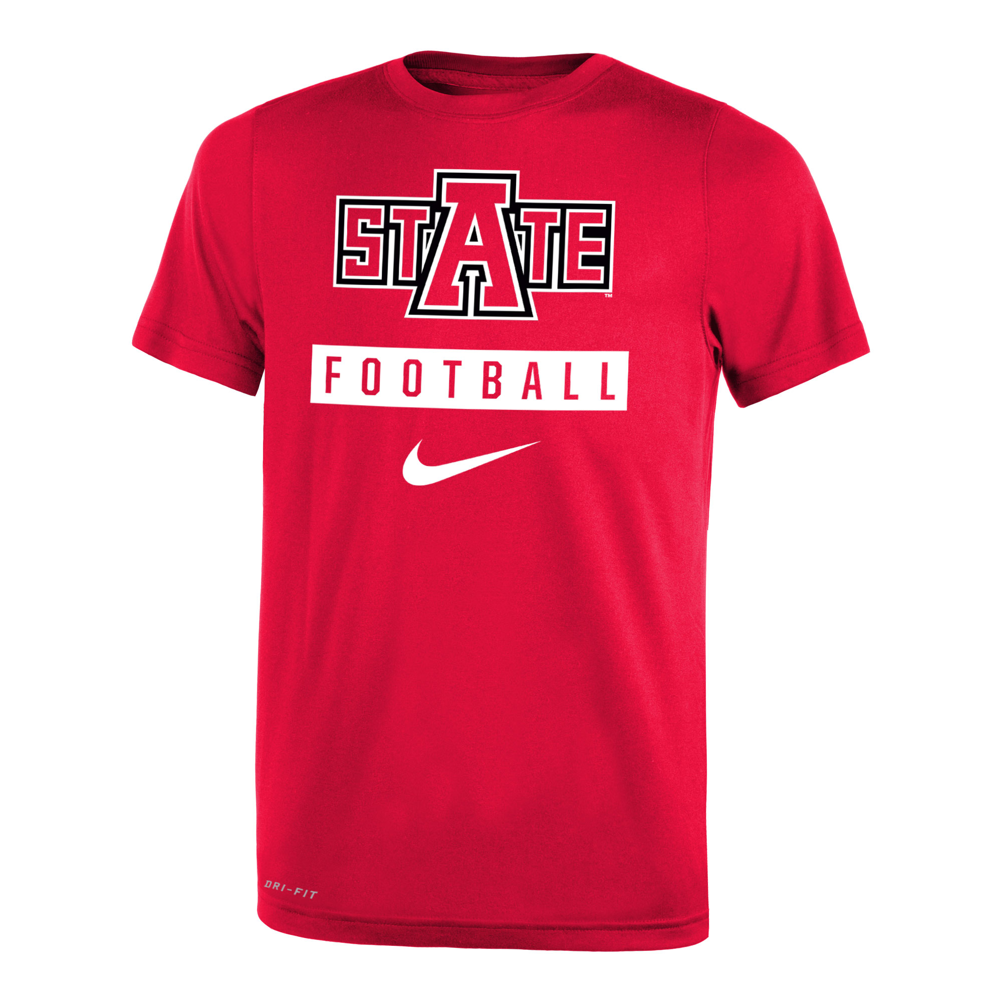 Red Wolves Youth Football SS Tee