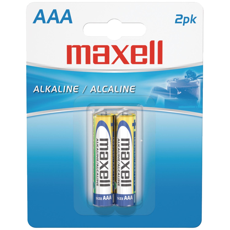 Maxell Alkaline Batteries AAA 2Pk