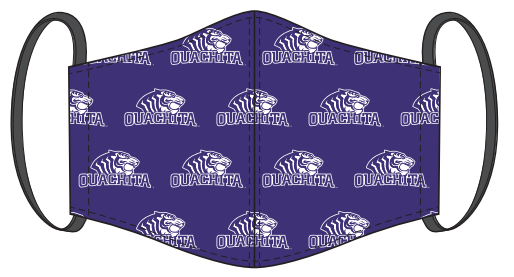 Ouachita Tigers Facemask