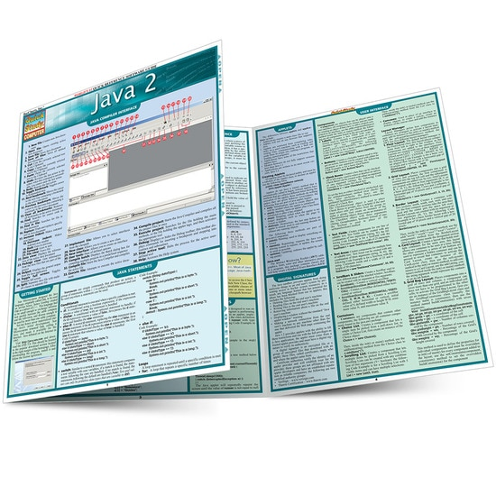 QuickStudy Java 2 Laminated Reference Guide
