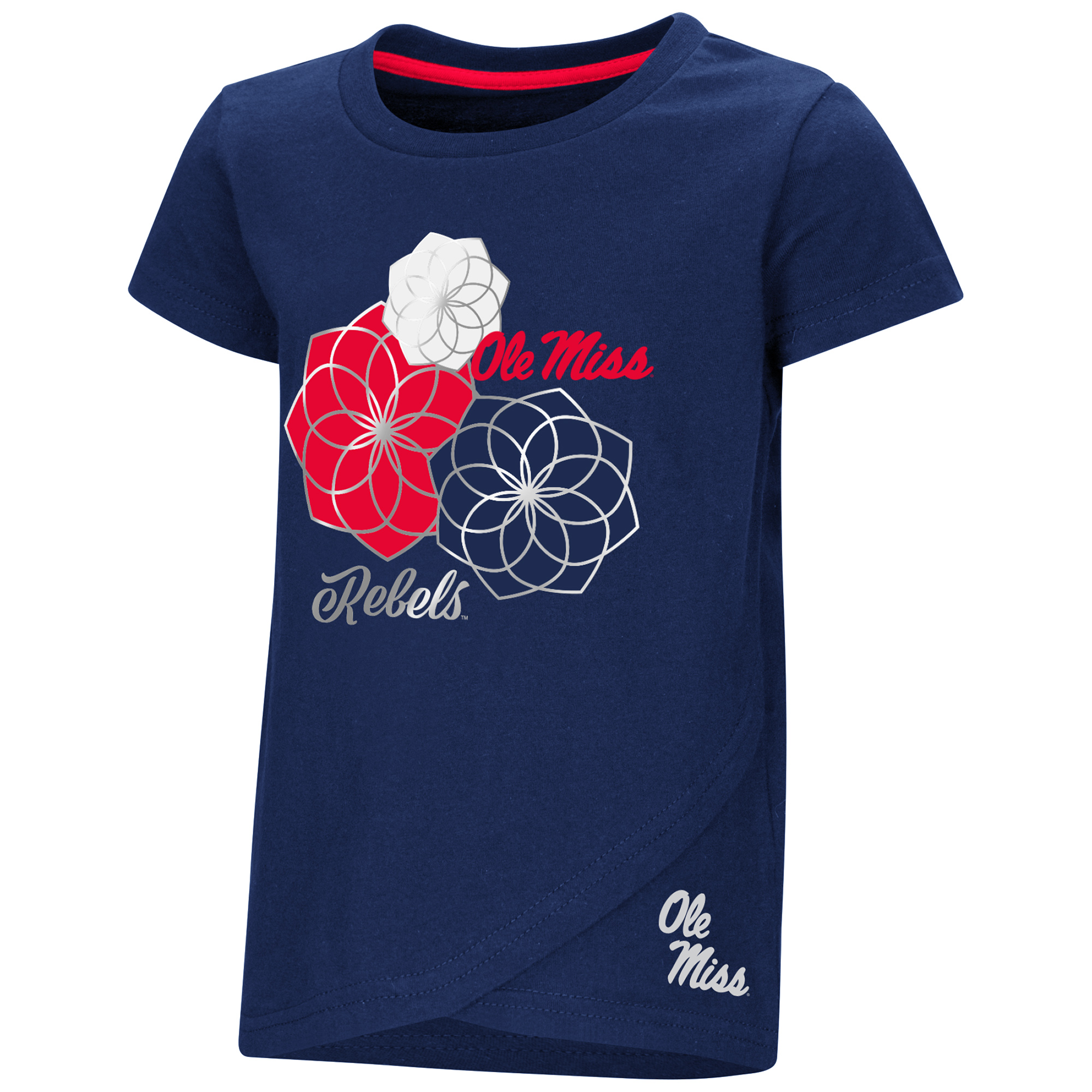 Toddler Girls Whoo! Whoo! Flower Tee