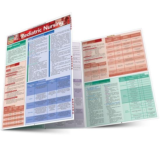 QuickStudy Pediatric Nursing Laminated Study Guide