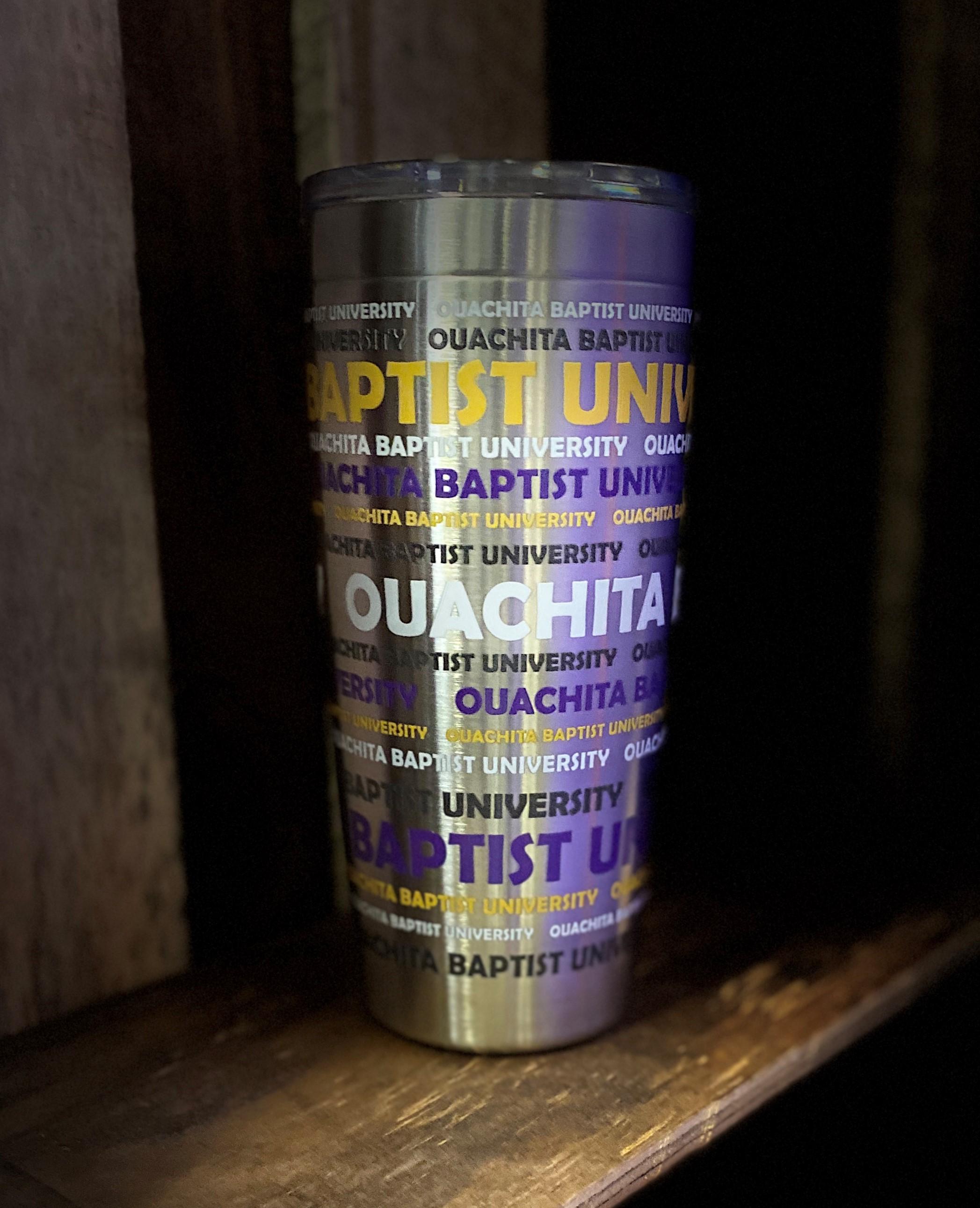OUACHITA STAINLESS STEEL TUMBLER