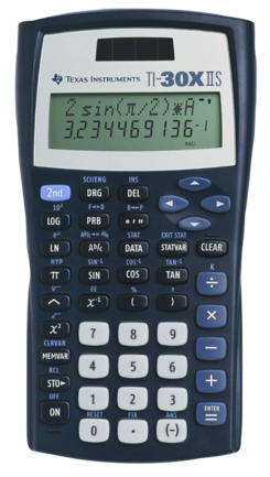30X IIS Scientific Calculator