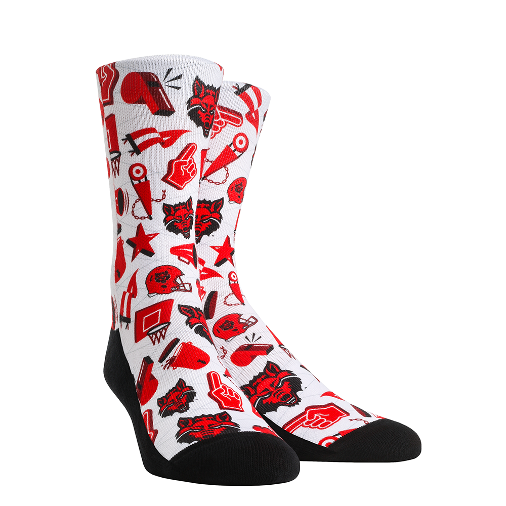 Arkansas State Athletic Icon Sock