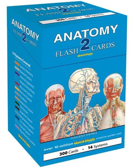 QuickStudy Anatomy 2 Flash Cards