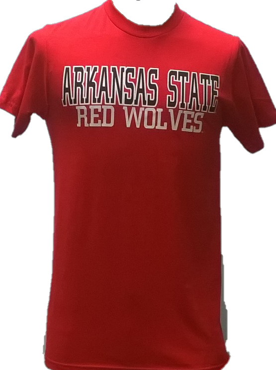 Arkansas State Red Wolves Lightweight T Shirt