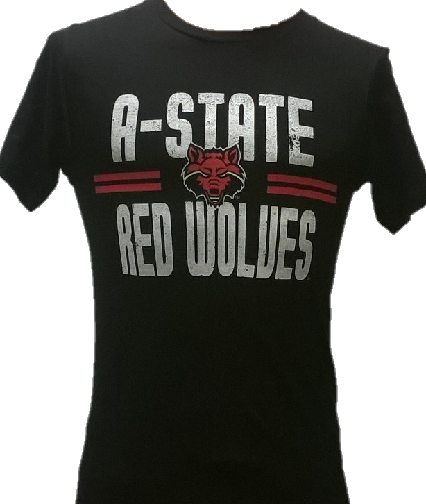 A-State Red Wolves Lightweight T Shirt