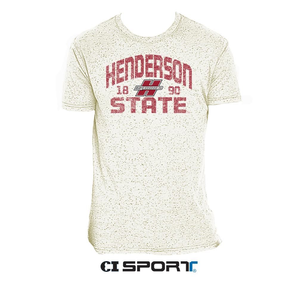 HENDERSON STATE FLECK TSHIRT