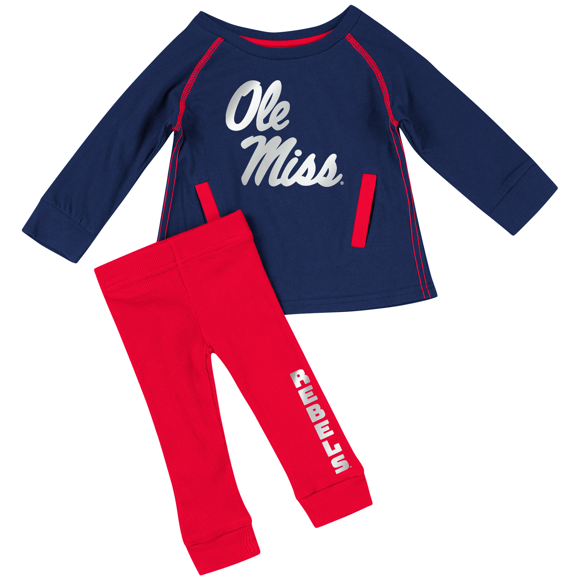 Infant Girls Nice Kick! Tunic and Leggings Set