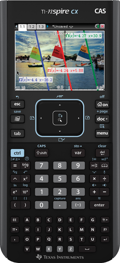 Nspire CX CAS Handheld Graphing Calculator