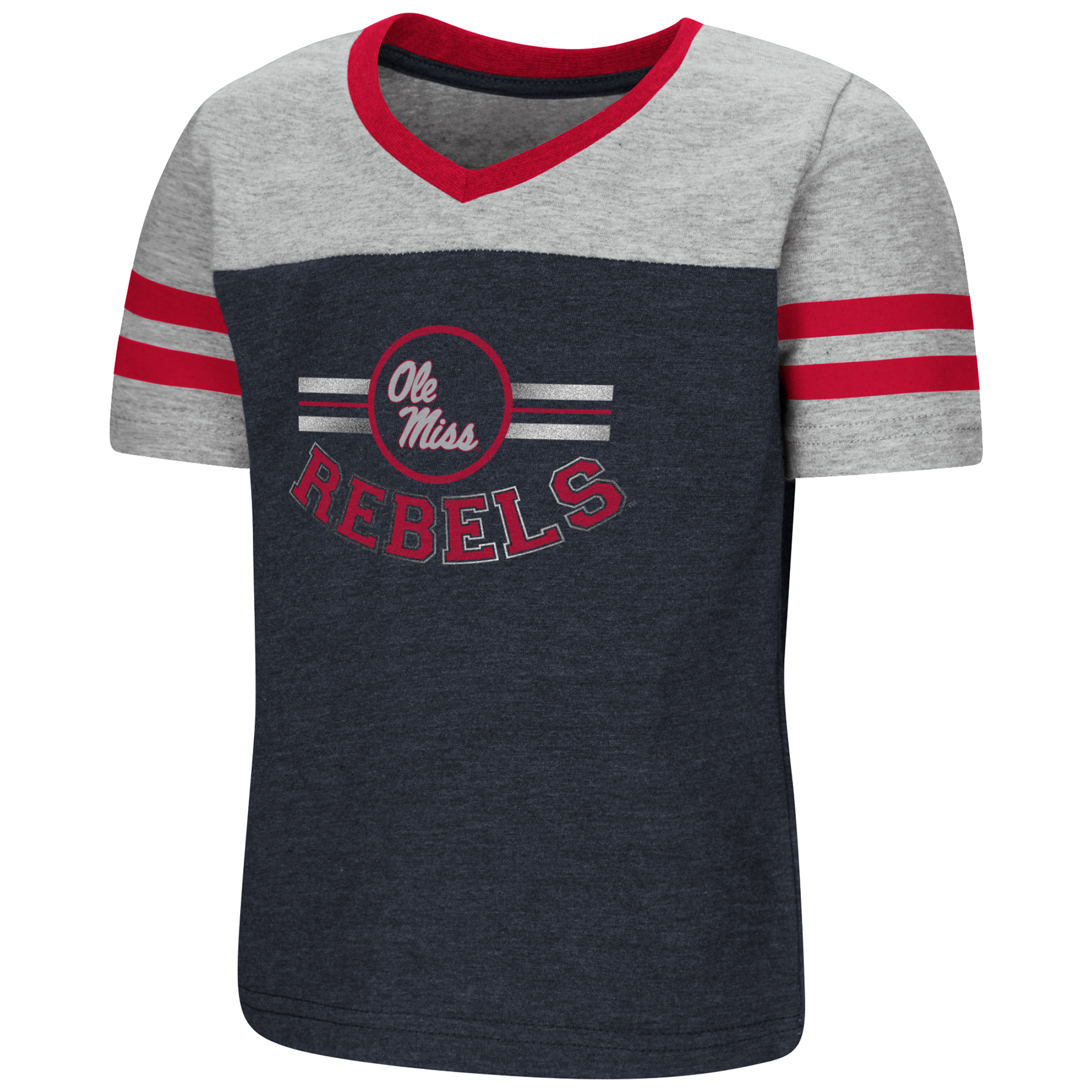 Toddler Girls Pee Wee Football V-Neck