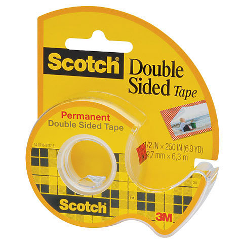 Perm Double Sided Tape (.75inx300in)