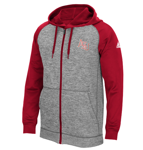 Arkansas State Tech Fleece Full Zip Hoody