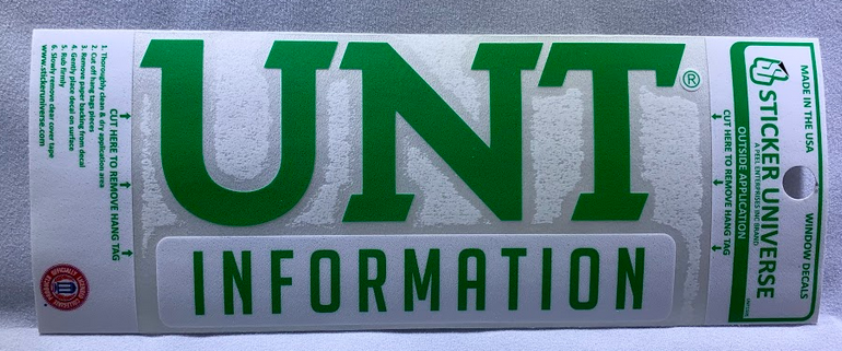 COLLEGE OF INFORMATION DECAL