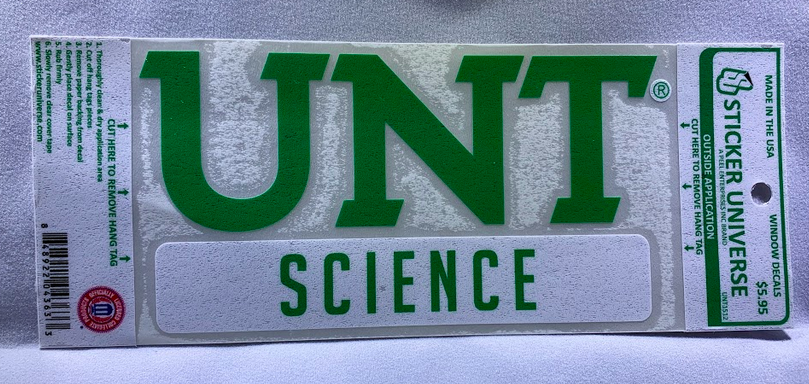 COLLEGE OF SCIENCE DECAL